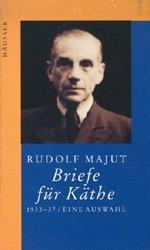 Podobizna Rudolfa Majuta, s nímž Vancsa polemizuje, na obálce knihy jeho textů (1995, Jürgen Häusser, Darmstadt)