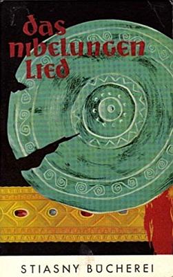 Obálka (1960) paperbackového vydání Písně oNibelunzích s jeho úvodem