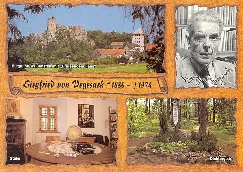 Siegfried von Vegesacks Doppelheimat auf dem Blumbergshof, heute lettisch Lohbergi, und in Weißenstein/Niederbayern