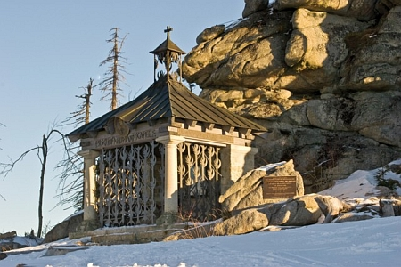 Kaple sv. Jana Nepomuka Neumanna na Třístoličníku
