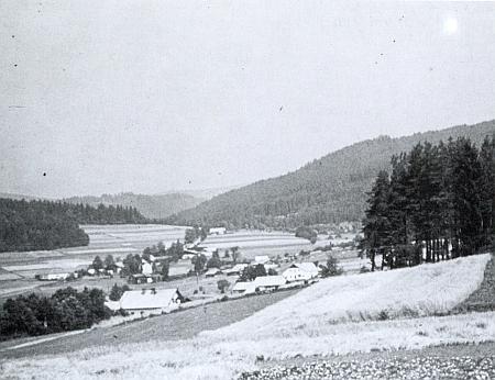 Snímek Stögerovy Huti z roku 1940
