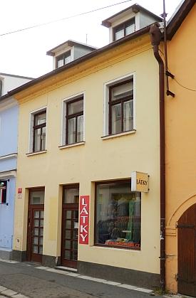 Rodný dům čp. 27 v českobudějovické Kněžské ulici