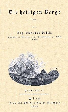 Obálka a titulní listy dvou z jeho prací (1828, 1833)