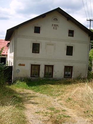 Jeho rodný dům v Opolenci čp. 11