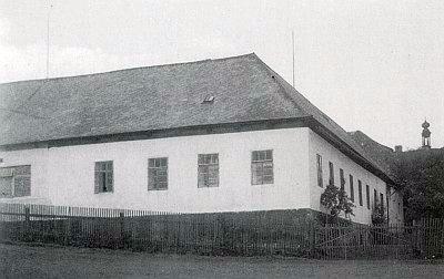 Veitsův dům ve Stögerově Huti, jak kdysi vyhlížel