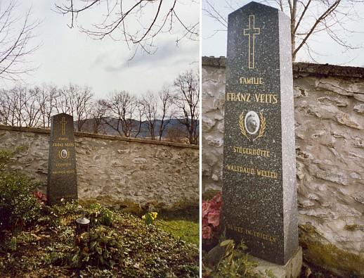 Hrob na volarském hřbitově