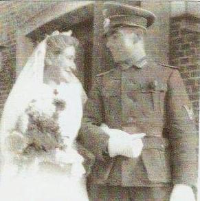 Svatba Inge Sommerové s Franzem Veitsem roku 1941