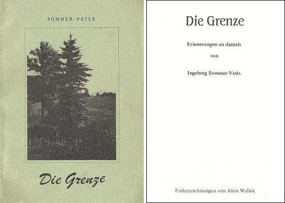 Obálka a titulní list její knihy (Böhmerwaldkreis Prachatitz, Großmehring)
