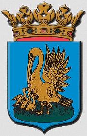 Znak malého nizozemského města Appingedam, nedaleko     něhož bychom našli urnu sjejím popelem