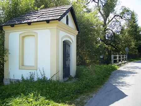 Kaplička u Blanice pod Řepešínem