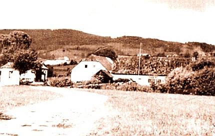 Někdejší podoba Řepešínského mlýna...