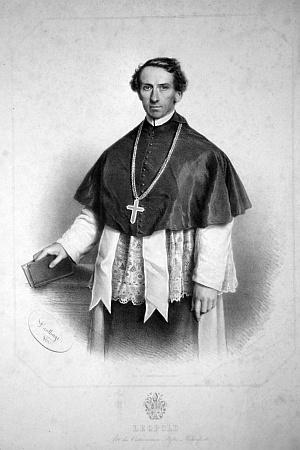 Na litografii Adolfa Dauthaye z roku 1861