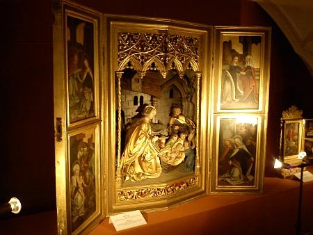 Oltář, který mu k devadesátinám věnoval Vojtěch Lanna, je i dnes ve sbírkách vyšebrodského kláštera
