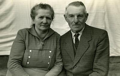 Rodiče Josef a Theresia Wagnerovi