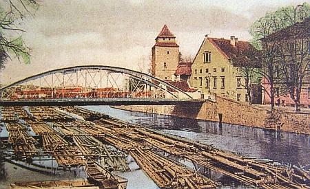 Vory na Malši u českobudějovického Železného mostu