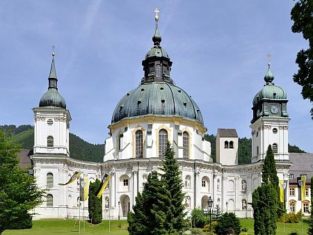 """Jeho působištěm se stal proslulý hornobavorský klášter Ettal (to slovo ve staroněmčině znamená """"slib"""")"""