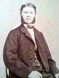 Jeho děd Johann Nepomuk Waldek a jeho žena Mathilde, roz. Eckhardrtová
