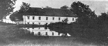 Rodný Draxlův mlýn (Draxelmühle) v Pihlově...
