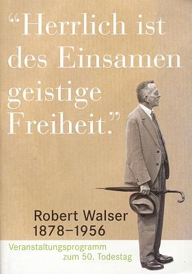 Na obálce (2006) brožury k 50. výročí jeho úmrtí