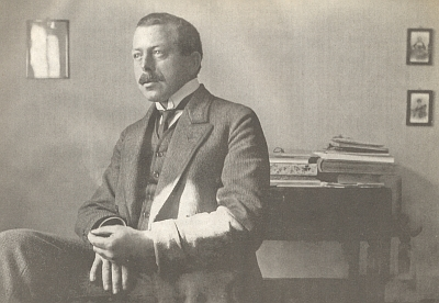 Kolem roku 1909, kdy vydal román Jakob von Gunten