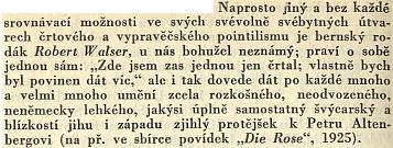 Toto o něm do sborníku Co číst z literatur germánských (1935) napsal Pavel Eisner
