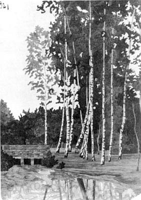 Intarzie, která visívala v tomto domě čp. 502 ve Volarech a vytvořil ji Alfredův otec Wilhelm (1886-1964)