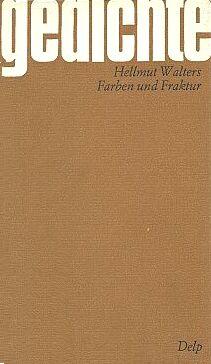 Obálka sbírky básní v mnichovském nakladatelství Delp (1973)