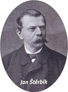 Jeho tchán Jan Štěrbík (Johann Sterbik)