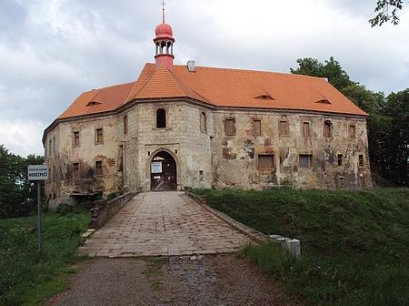 Stav zámku ve Stráži pod Ralskem