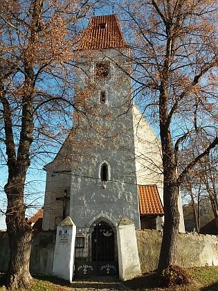 Farní kostel sv. Jakuba Většího v Boršově nad Vltavou