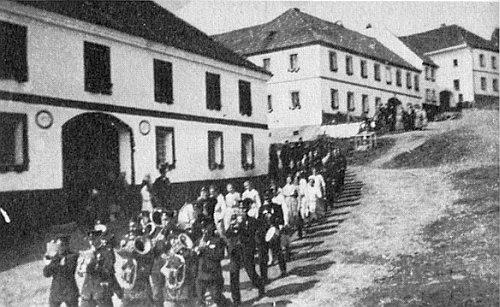 Hasičská slavnost v Hořičkách 1933, ještě za Masarykovy republiky