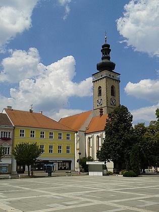 Náměstí v rodné Soběslavi