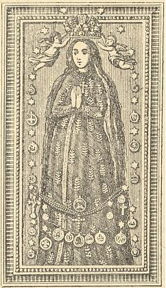 Jedno ze starších vyobrazení Panny Marie Budějovické