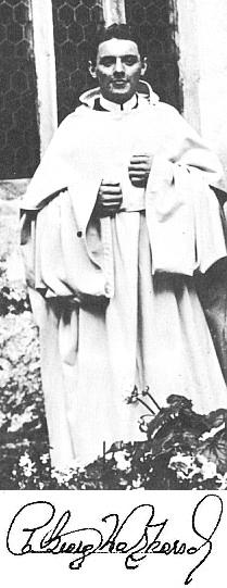 V den svého kněžského svěcení ve vyšebrodském klášteře 19. srpna 1917