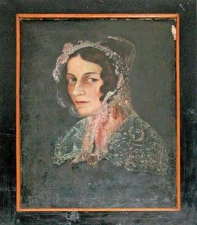 Jeho první žena Marie Agnes, roz. Steinhardová