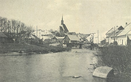 Dolní Dvořiště s mostem nad řekou Malší mu zůstalo vzpomínkou nadosmrti (viz i Leopoldine Haunová)