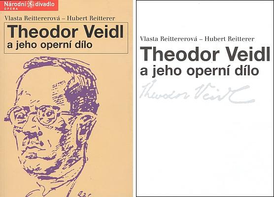 Obálka a titulní list (2005) dvojjazyčné knihy o Theodoru Veidlovi, která obsahuje mj. i originál a český překlad Watzlikova libreta a kritik operní premiéry Kranwita roku 1929 (vydalo Národní divadlo v Praze)