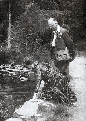 ... a u Černého jezera v roce 1943