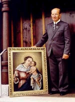 """S obrazem Matky Boží Stožecké pro """"jeho"""" kapli"""