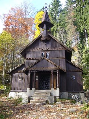 """""""Původní"""" Stožecká kaple na snímcích z podzimu 2013"""