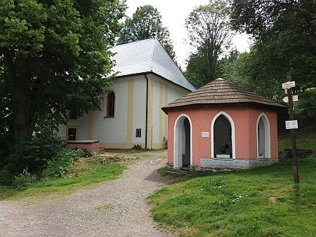 Studánka sv. Vintíře na snímcích z roku 2017