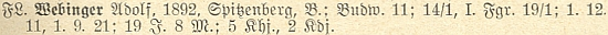 Tady figuruje na seznamu učitelů v Horní Plané k roku 1928, kdy se stal školním radou pro celý krumlovský okres