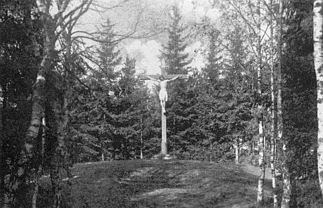 Vimperská Kalvárie, jak vypadala kdysi