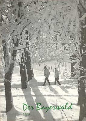 Obálka časopisu Der Bayerwald z ledna 1973, vněmž vyšel jeho text o Stifterovi