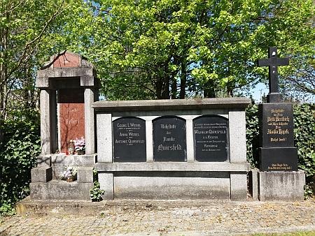 Hrob na všerubském hřbitově dnes
