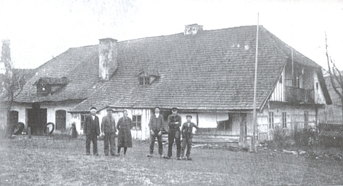Strunzova kovárna a hamr v Hraběcí Huti čp. 75