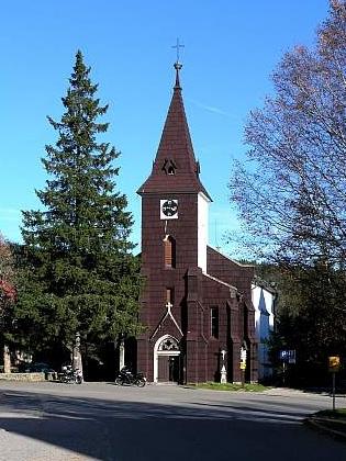 Kostel sv. Štěpána v Kvildě (viz i Siegfried Kapper a Franz Reinisch)