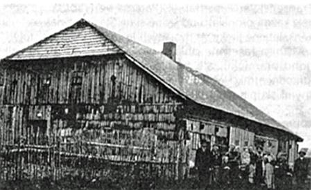 Jeho rodné stavení čp. 52 ve Vydřím Mostě