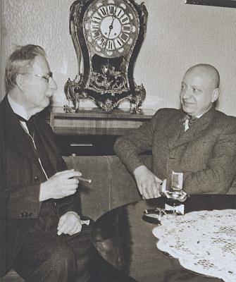 U příležitosti jeho sedmdesátin ho 17. února 1942 přijal v Kolowratském paláci protektorátní ministr Emanuel Moravec