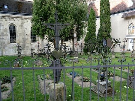 Klášterní hřbitov v Heiligenkreuz